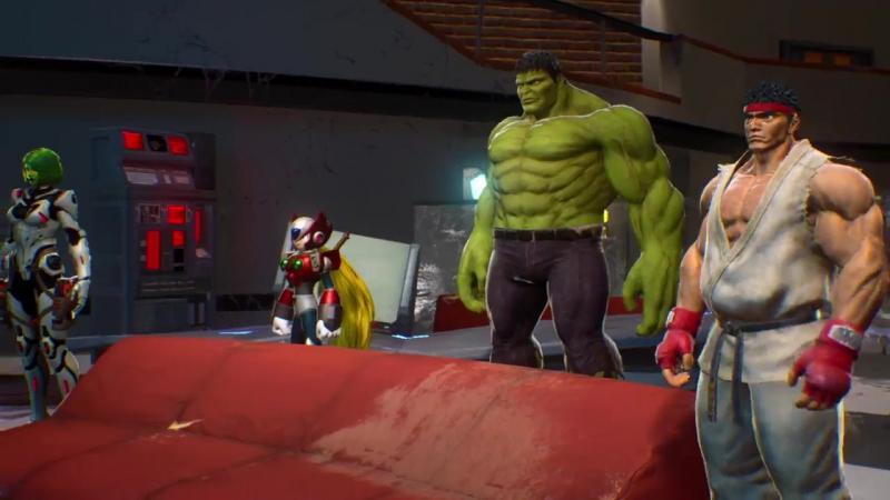 Полный сюжетный трейлер игры Marvel vs. Capcom: Infinite!