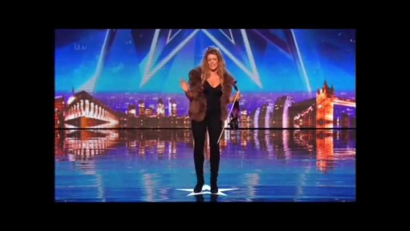 Britains Got Talent - Lettice Rowbotham