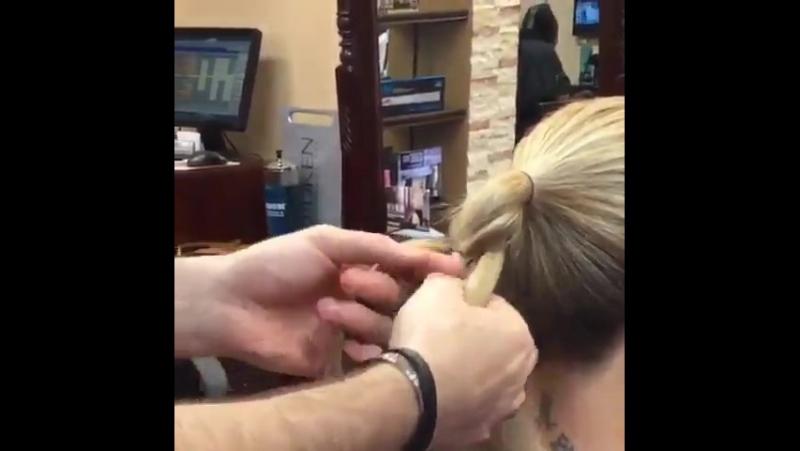 Красивая косичка за 5 минут