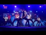 170815 BTS - Blood Sweat & Tears + Boy In Luv + Danger + Run + FIRE @ Music Bank in Singapore