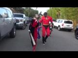 Фёрги в образе ''Харли Квинн'' на Хэллоуин