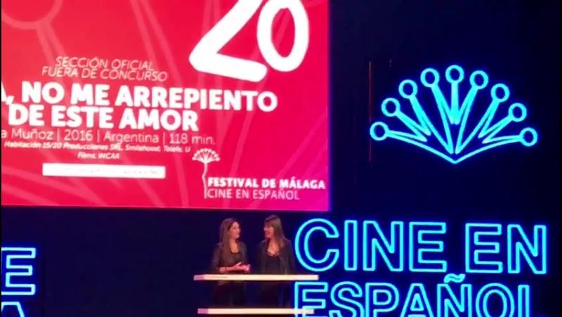 Пресс-конференция в Малаге фильма :Джильда я не жалею об этой любви