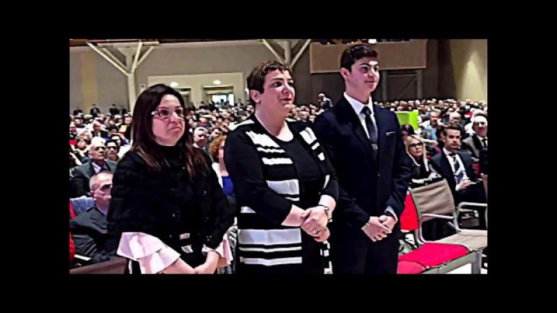 Радостный конгресс Свидетелей Иеговы в Италии 2017