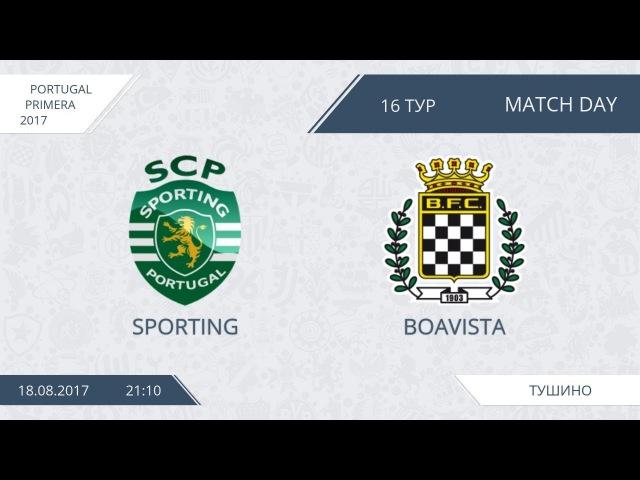 AFL17. Portugal. Primera. Day 16. Sporting - Boavista