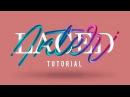 Interlaced Lettering Tutorial   Adobe Photoshop & Illustrator