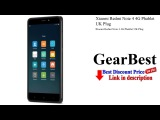 Xiaomi Redmi Note 4 4G Phablet UK Plug   Gearbest review