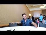 Beautiful Ballad/Whedonopolis: Dominic Sherwood Chats Shadowhunters At SDCC 2017
