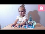 Игровая площадка Эльзы и Анны LEGO Juniors 10736 Соня собирает ледяной замок Frozen Холодно...