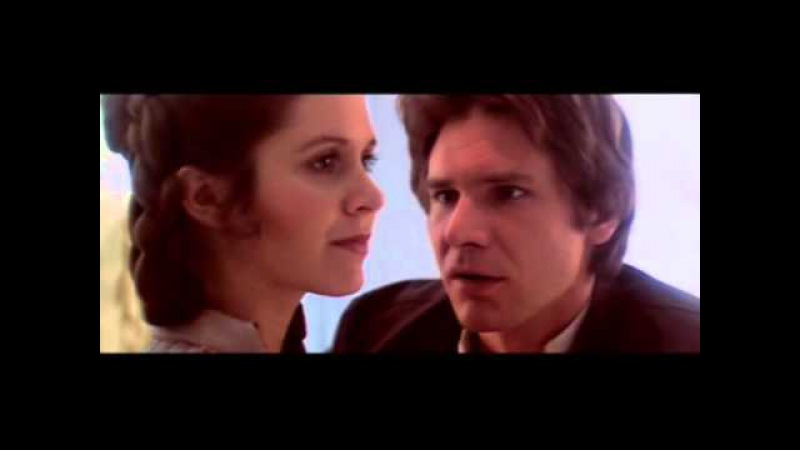 The Empire Strikes Back (Behind The Scenes) - Han and Leia in Bespin