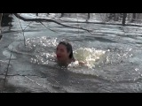 Leila Sunshine singing in icy river/Natural Rituals