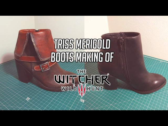 COSPLAY - Triss Merigold Witcher 3 - Shoes Making Of