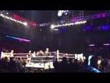 Boxer Ohara Davies amazes fans as he walks out to The Undertaker's entrance music