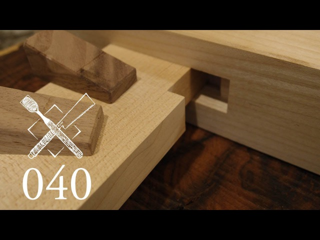 Joint Venture Ep. 40 Notched and wedged wall bridging Watari ago (Japanese Joinery)