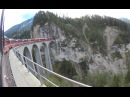 Bernina Express Chur -Tirano - 4K Seitenkameras - Top-Of