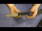 AlphaKnives  Два ножа из CPM-10V  По просьбе трудящихся.