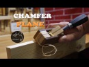 Wooden Chamfer plane for chisel How to make