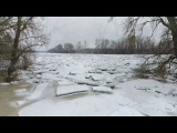 Затор льоду на р. Тиса (Ужгородський район)