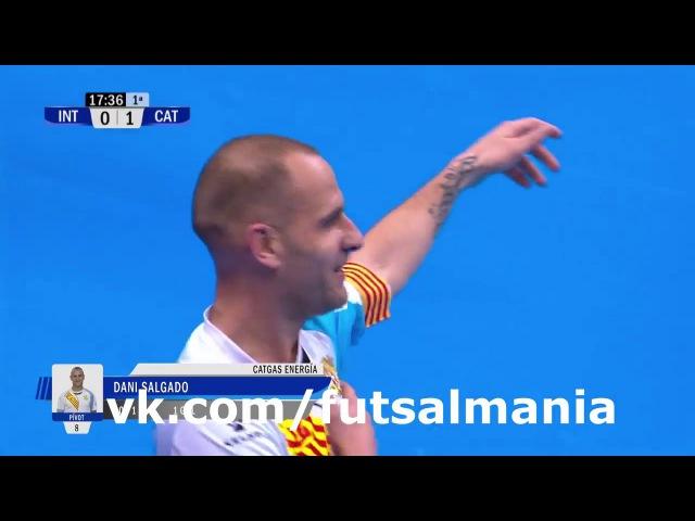 Гол Сальгадо футзал мини футбол futsal skills goal tricks