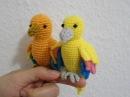 How to crochet little Bird
