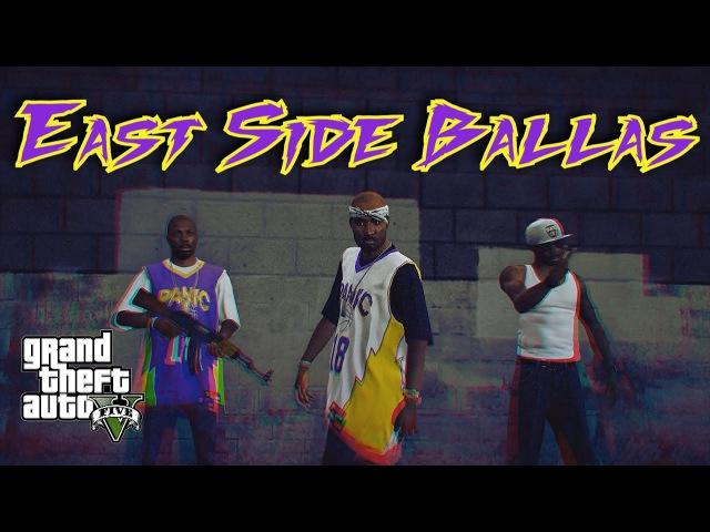 GTA 5 PC Editor- The Ballas- ESB- East Side Ballas- GTA 5 Cinematic