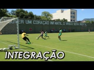 Melhores momentos do jogo-treino entre profissionais e sub-20 (14/2)