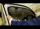 Автошторки Chiko Magnet, установка на Mitsubishi Outlander 3