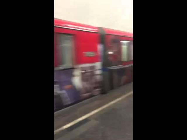 Кинопоезд 81-740.4 на станции Курская