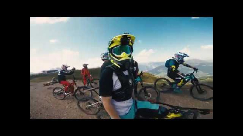 Downhill Laps, Whips and Fun