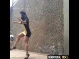 Mulher no futebol-sensational xxl