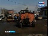 Дорожный ремонт начался в Иркутске,
