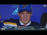 Robert Thomas Selected 20th Overall By St. Louis Blues (20178 NHL Draft)