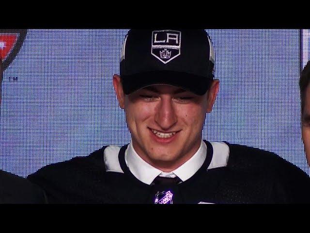 Драфт НХЛ-2017. Лос Анджелес Кингз выбрали Габриэля Виларди!