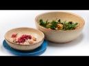 Пряный рис с индейкой и зелёный салат с грушей Дежурный по кухне