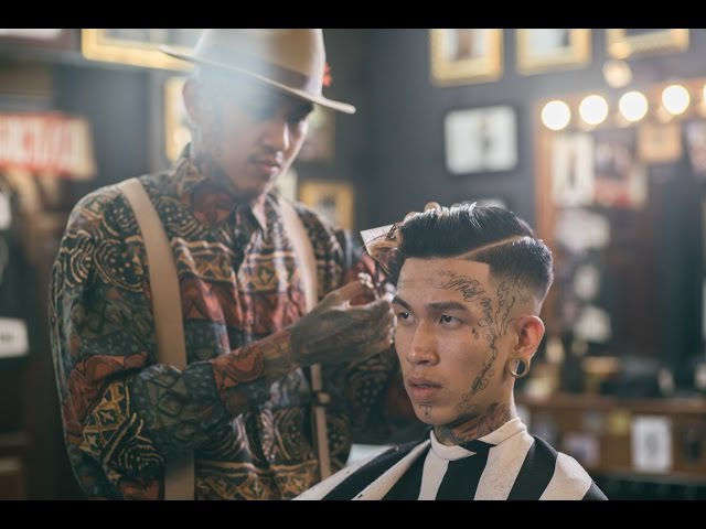[LIEM BARBER'S COLLECTION] HIGH SKIN FADE AND POMPADOUR