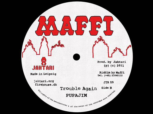 Pupajim - Trouble Again (Jahtari 12, Maffi series)