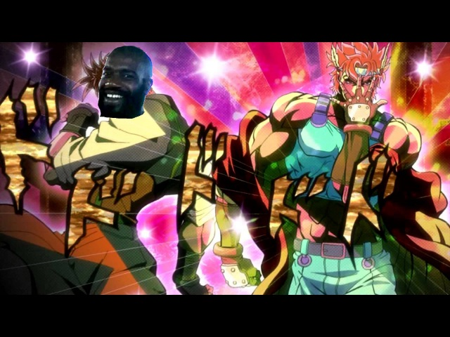 MC Ride's Bizarre Adventure Death Grips x Jojo