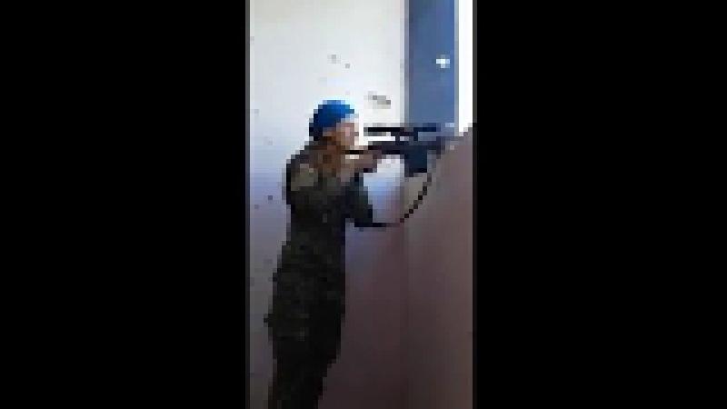 «Битва снайперов в Ракке. Слава богу, террорист ИГИЛ промахнулся»
