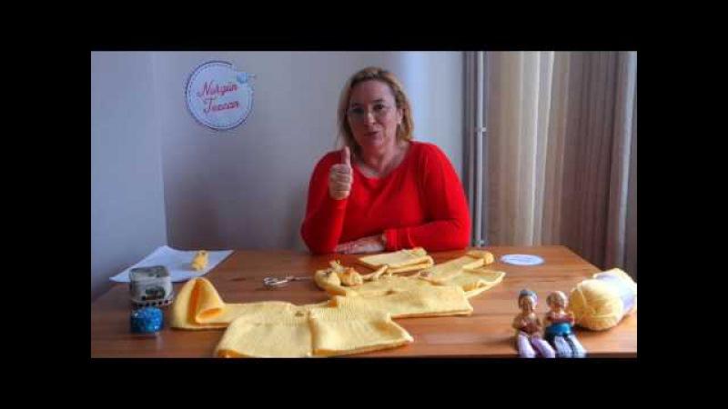 Nurgün Tezcan | Bebek Hırkası, Patik ve Şapka Yapımı