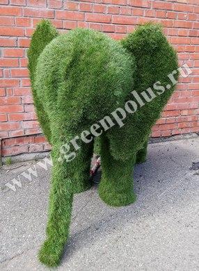 топиарная фигура слоненок