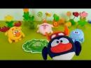 Смешарики собирают урожай овощей - Мультики с игрушками Smeshariki для детей