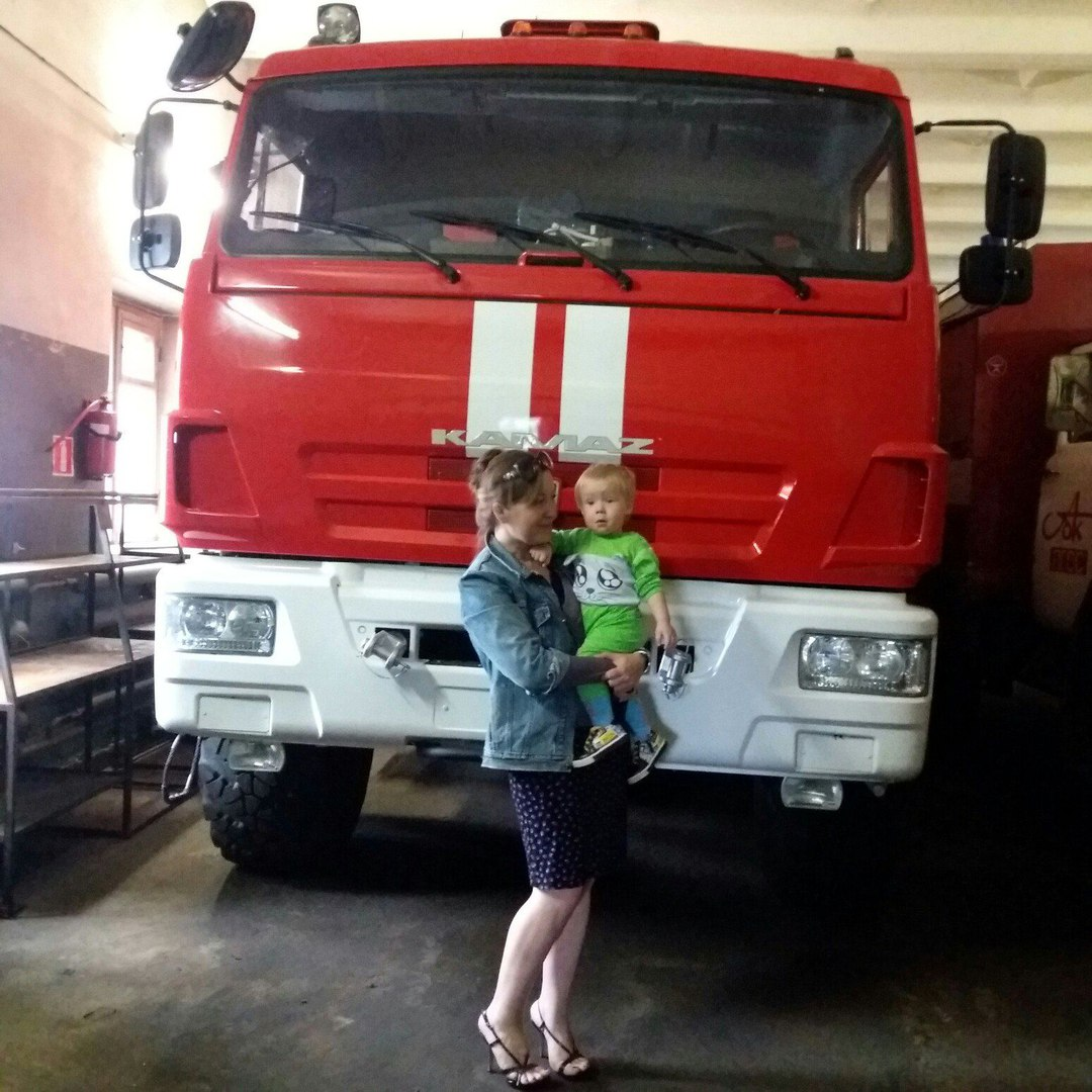 пожарная машина пгсс наталия пономарева фото