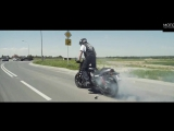 the longest motorcycle burn-out