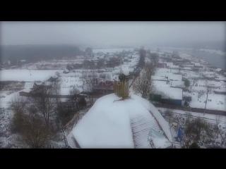 Ролик о восстановлении храма в Пречистом бору. Осень-зима 2016 года.