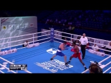 AIBA Hamburg 2017 Сергей Собылинский (69кг) Preliminaries