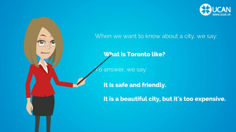 Learn English Conversation- Lesson 15. What is your city like-