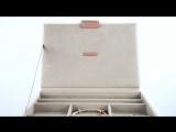 Лимитированная серия шкатулок LC Designs Stackers Rose Gold