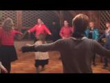 Мастер-класс Абхазского свадебного танца. Мандариновый Новый Нод 2017. Клуб фитнес Путешественников.