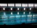 Наш первые соревнования по плаванию