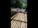 Сплав по реке на бамбуковых плотах, Тайланд❤️