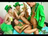 Adria Rae, Audrey Noir, Nickey Huntsman group sex porno